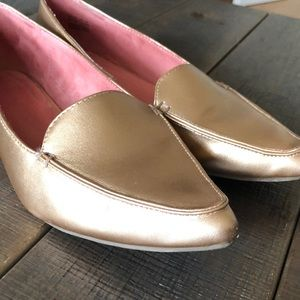 Gap Metallic Loafers